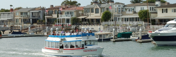 Fun Zone Boats - M.V. Show Boat - Newport Beach Harbor