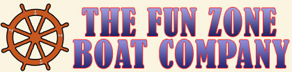 The Fun Zone Boat Company Logo